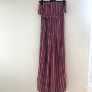 American Eagle Strapless Jumpsuit